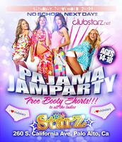 CLUB STARZ PALO ALTO - PAJAMA PARTY - SATURDAY NOV 26TH