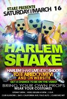 STARZ PALO ALTO - PRESENTS HARLEM SHAKE TEEN NIGHT! 7:30PM