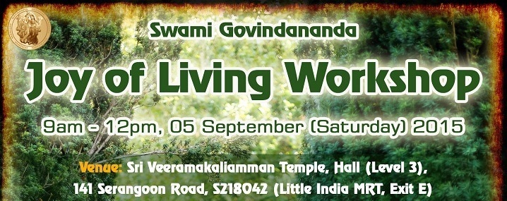 Joy of Living - Swami Govindananda