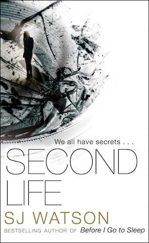 Second Life SJ Watson cover