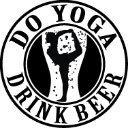 Poses and Pints Icon, Do Yoga. Drink Beer.