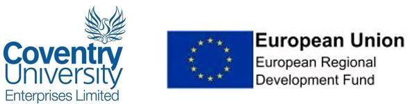 ERDF and CUE Logos
