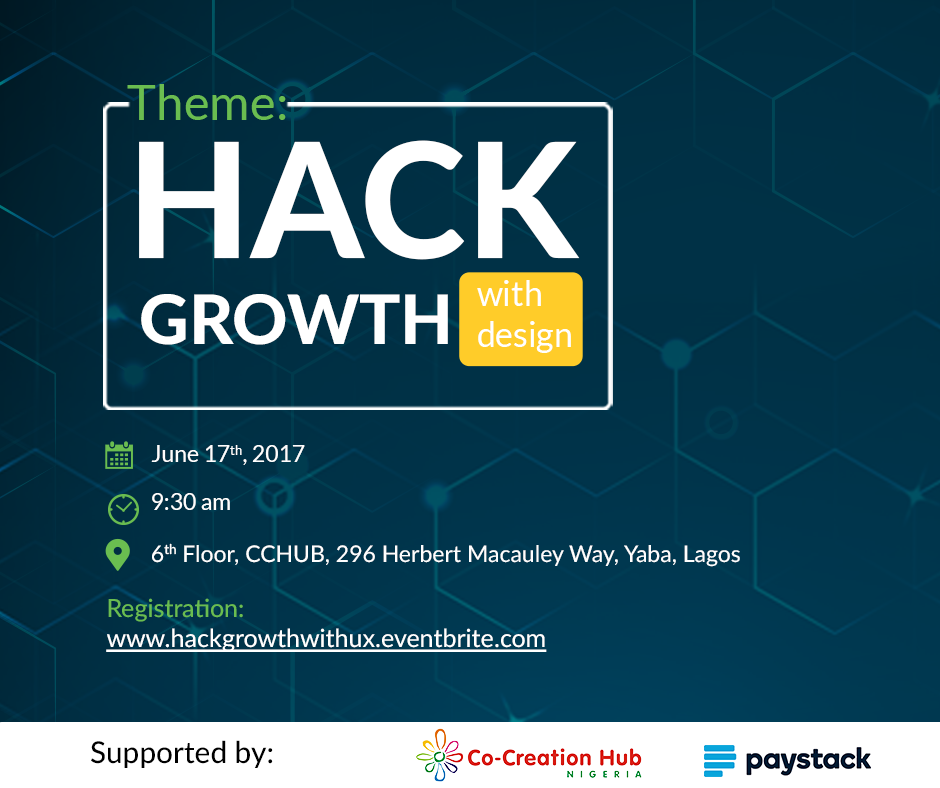 hackgrowth with design with ernest ojeh, chimdindu aneke
