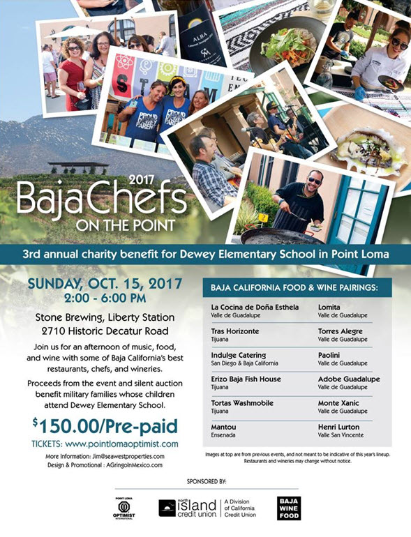 Point Loma Optimist 2017 Baja Chefs on the Point