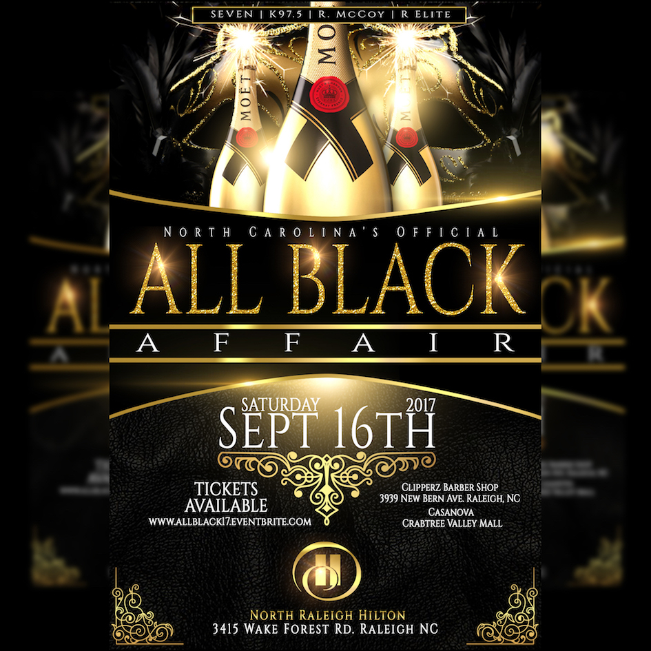 Fade to Black | 'The 2017 All Black Attire Affair' | Pay At Door ...