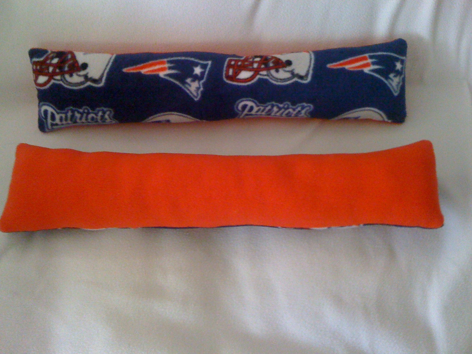 Fleece Neck Pillow, New England Patriots