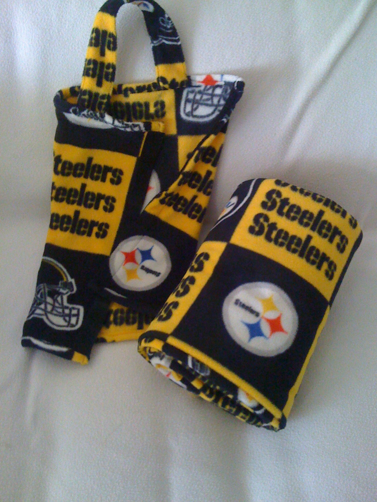 Blanket-In-A-Bag, NFL Pittsburg Steelers