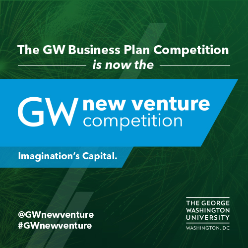 The GW Business Plan Competition is now the GW New Venture Competition!