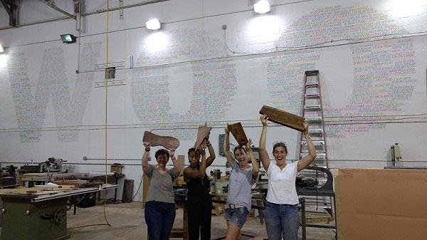 WOO's August Cutting Board Class!