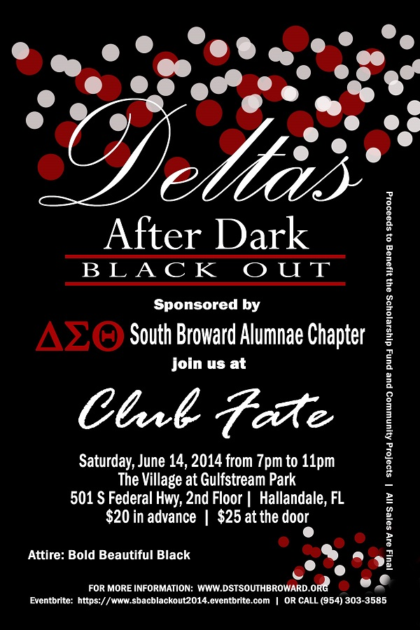 Deltas After Dark Black Out