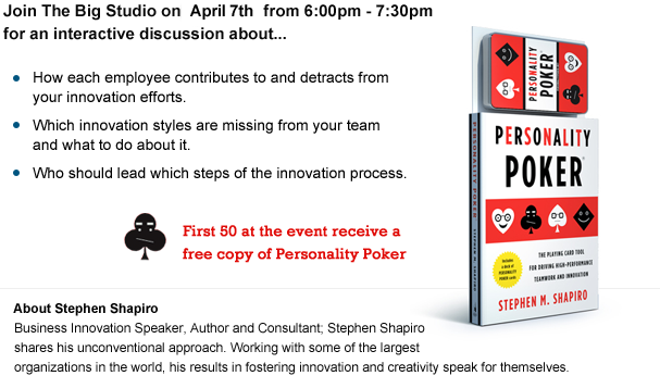 Event Details: April 7th from 6:00pm-7:30pm