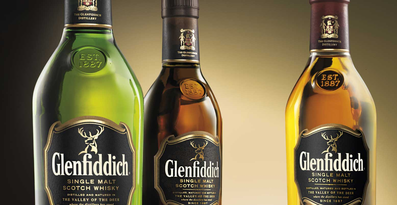 Glenfiddich Bottles