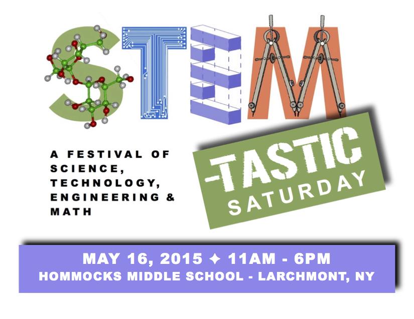 STEM-tastic Saturday logo