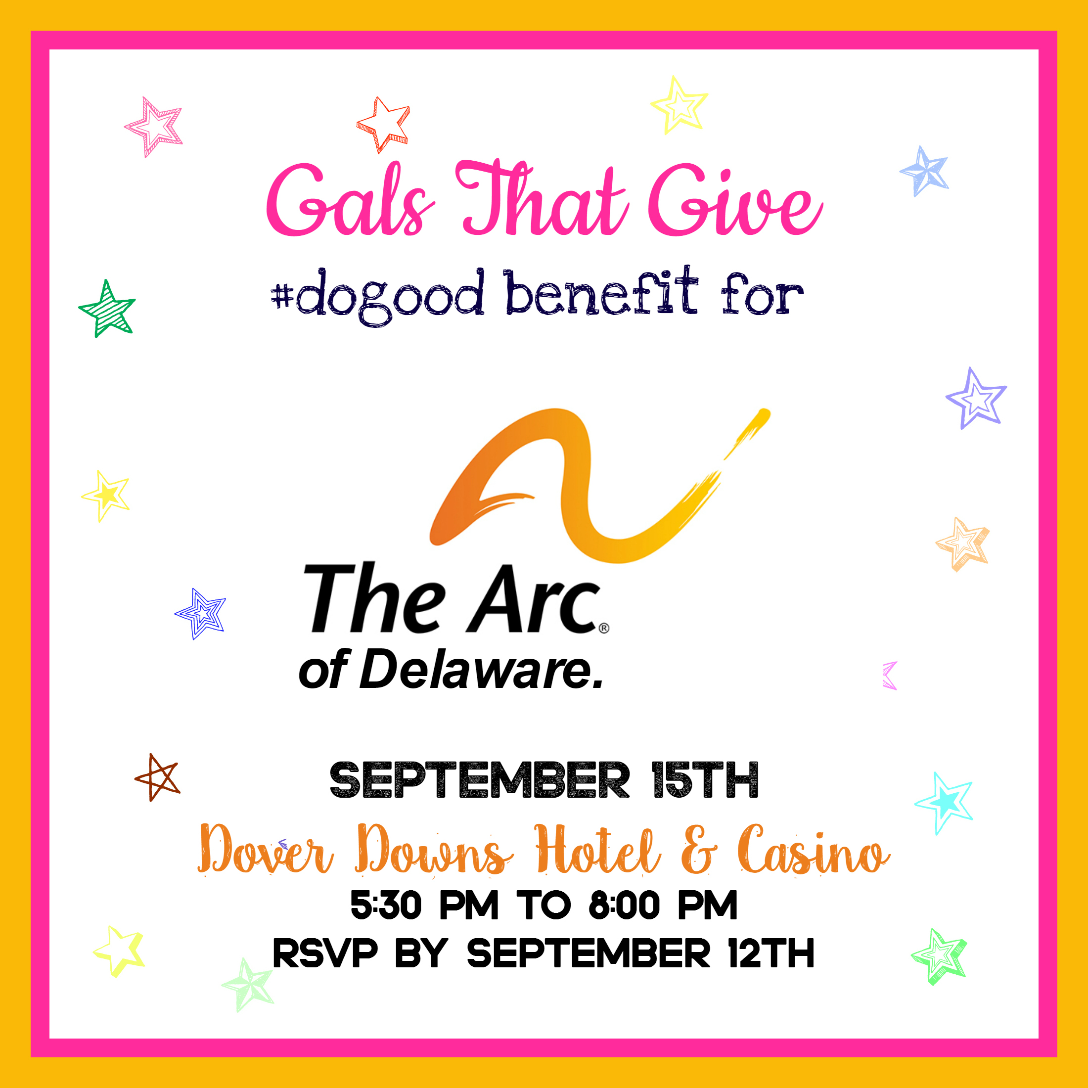 Gals That Give benefit for the Arc of Delaware