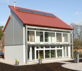 The BASF House at Nottingham Creative Energy Homes