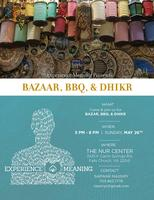 Bazaar, BBQ, and Dhikr