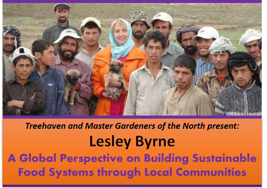 Lesley Byrne Treehaven UWSP