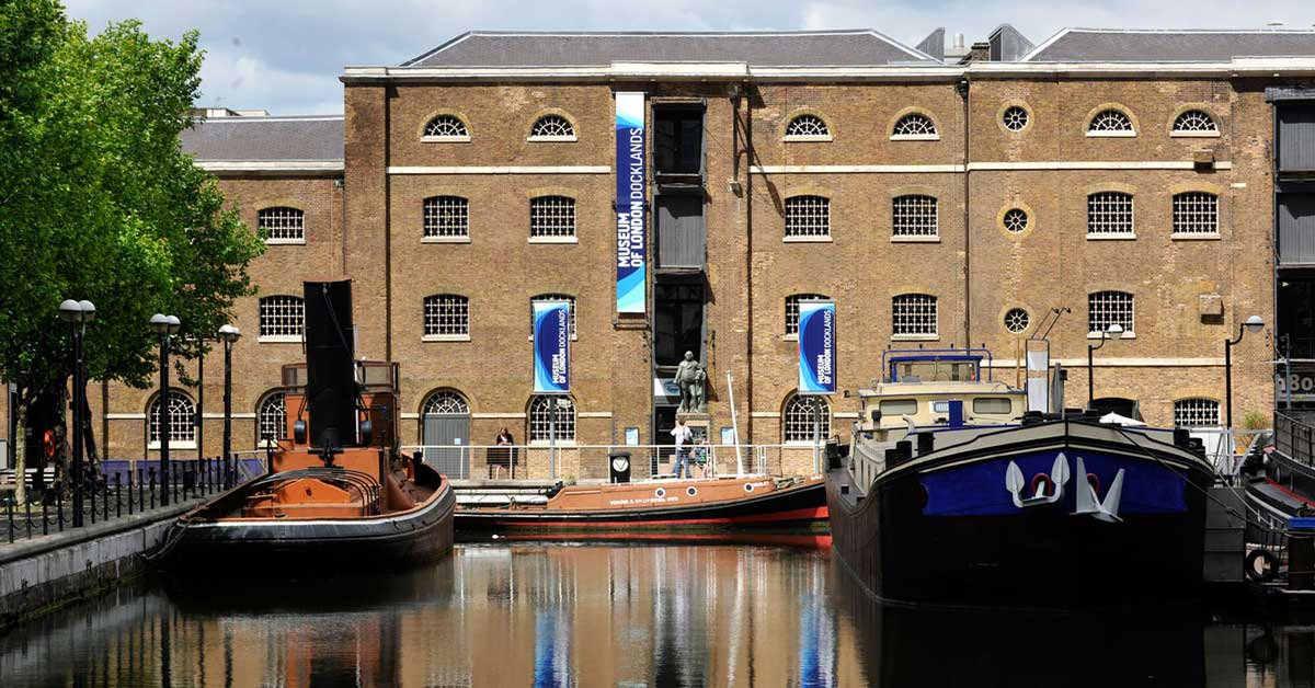 Museum of London Docklands exterior