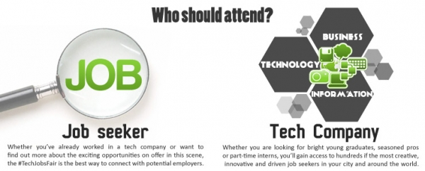 job seeker information use tech startup