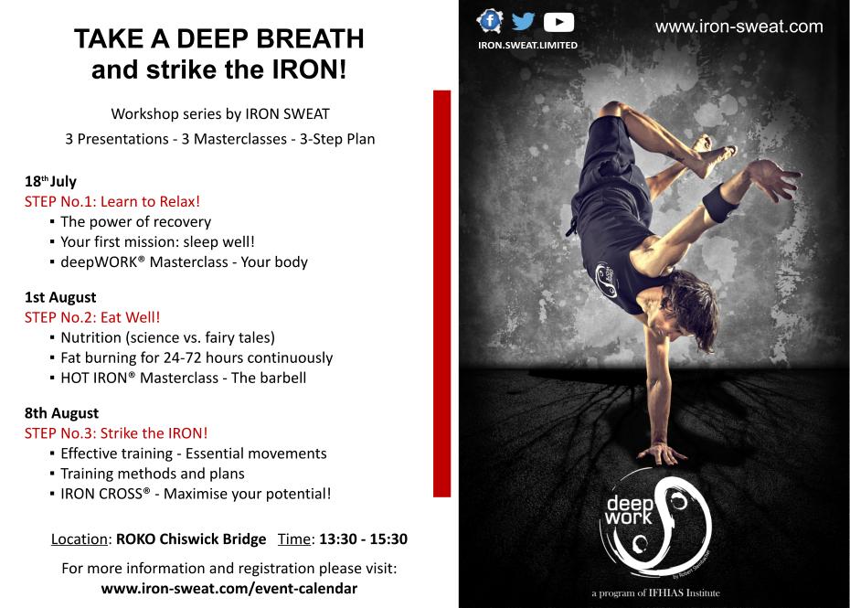 Take a deep breath TOUR 2015 - ROKO Chiswick Bridge