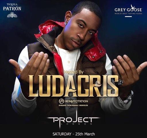 LUDACRIS PARTY LONDON PROJECT CLUB