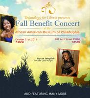 "Technology for Liberia presents ""A Fall Benefit Concert."""