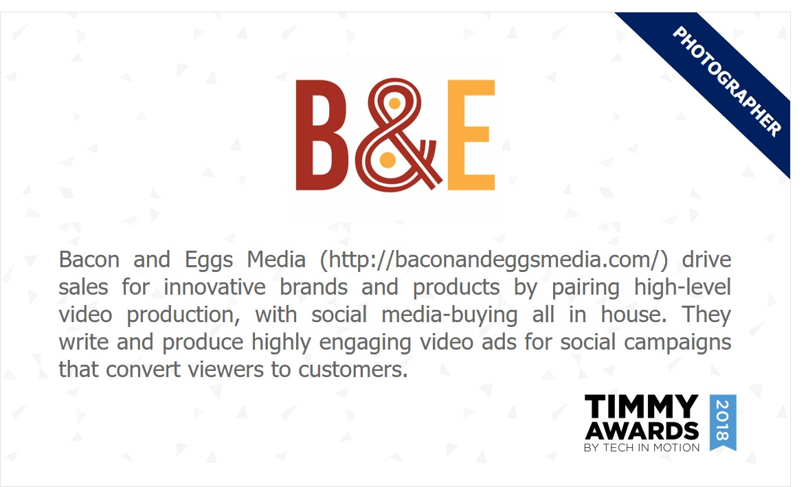 Bacon and Eggs Media