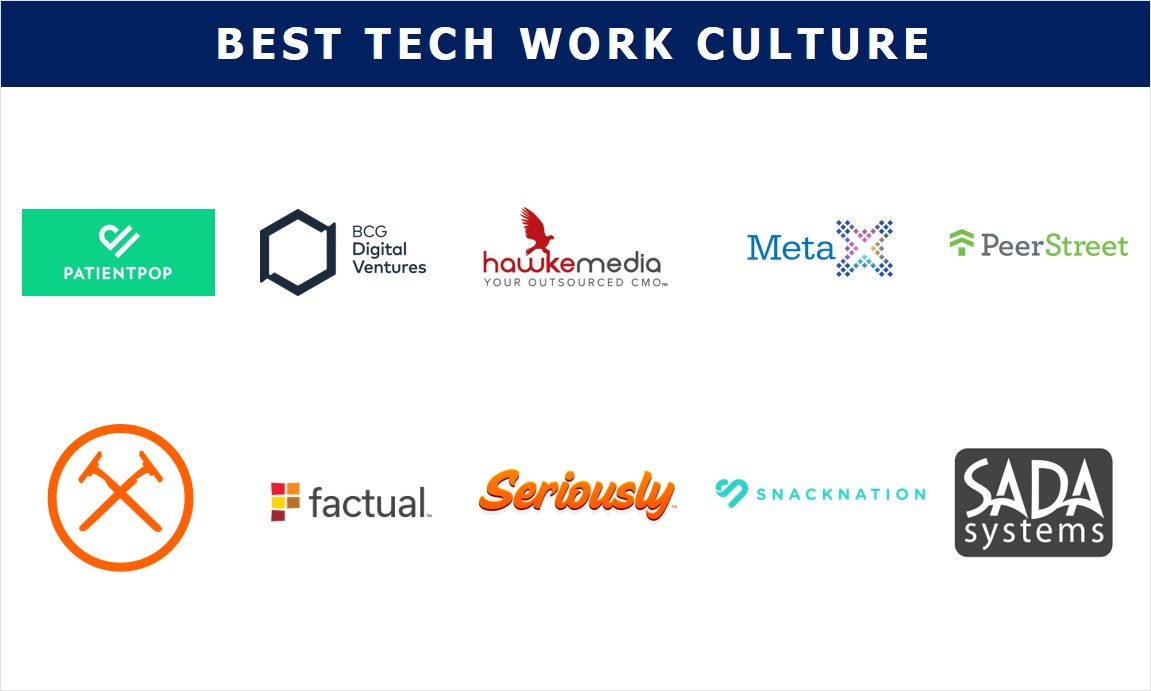 LA's 2018 Best Tech Work Culture Finalists
