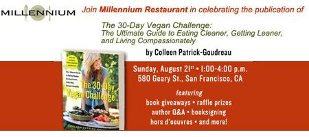 The 30-Day Vegan Challenge Book Release Party!