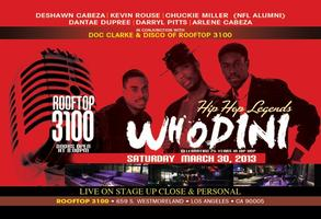 Hip Hop Pioneers WHODINI Live On Stage & Celebrating over...