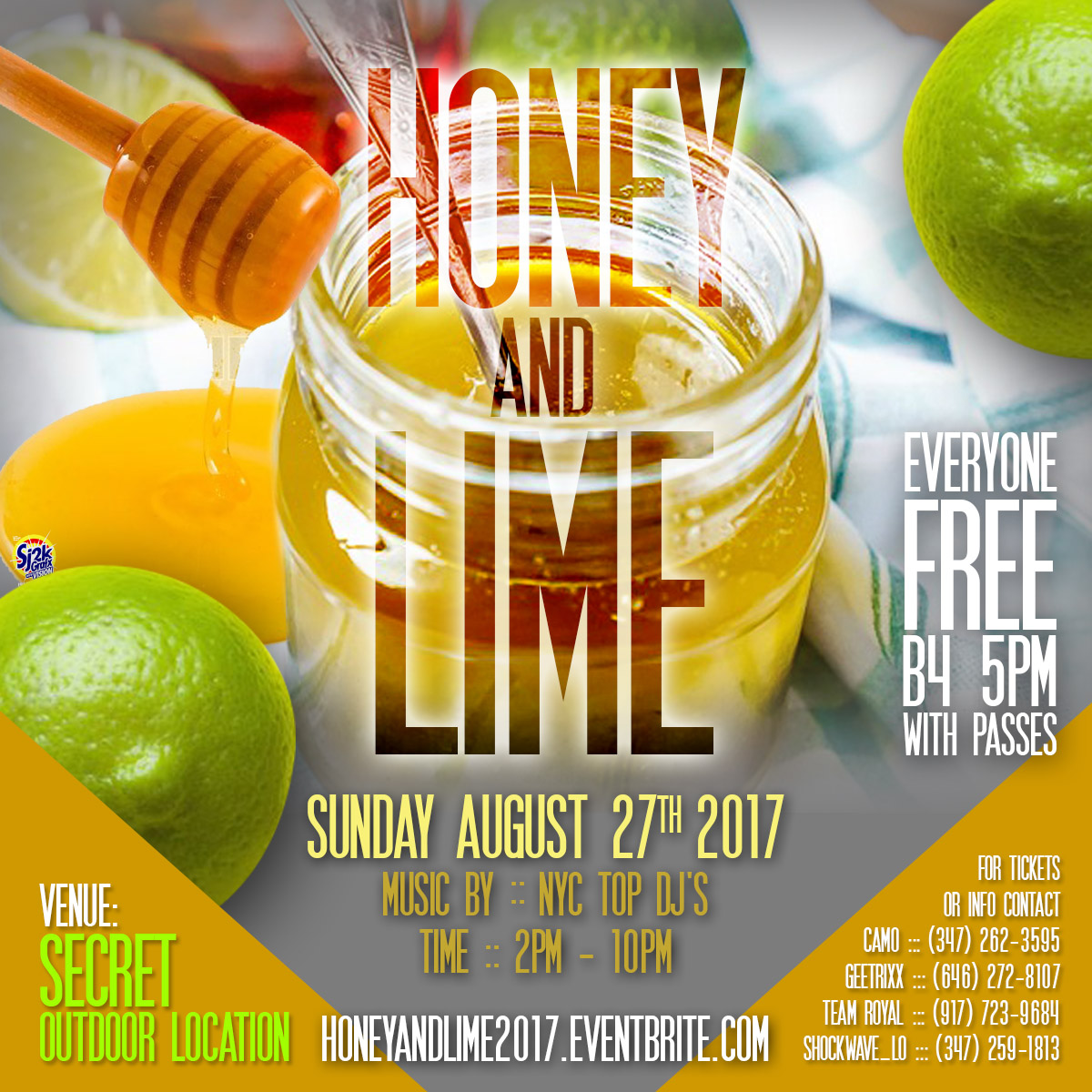 honey and lime 2017