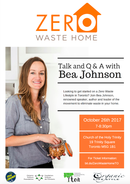 Bea Johnson of Zero Waste Home in Toronto