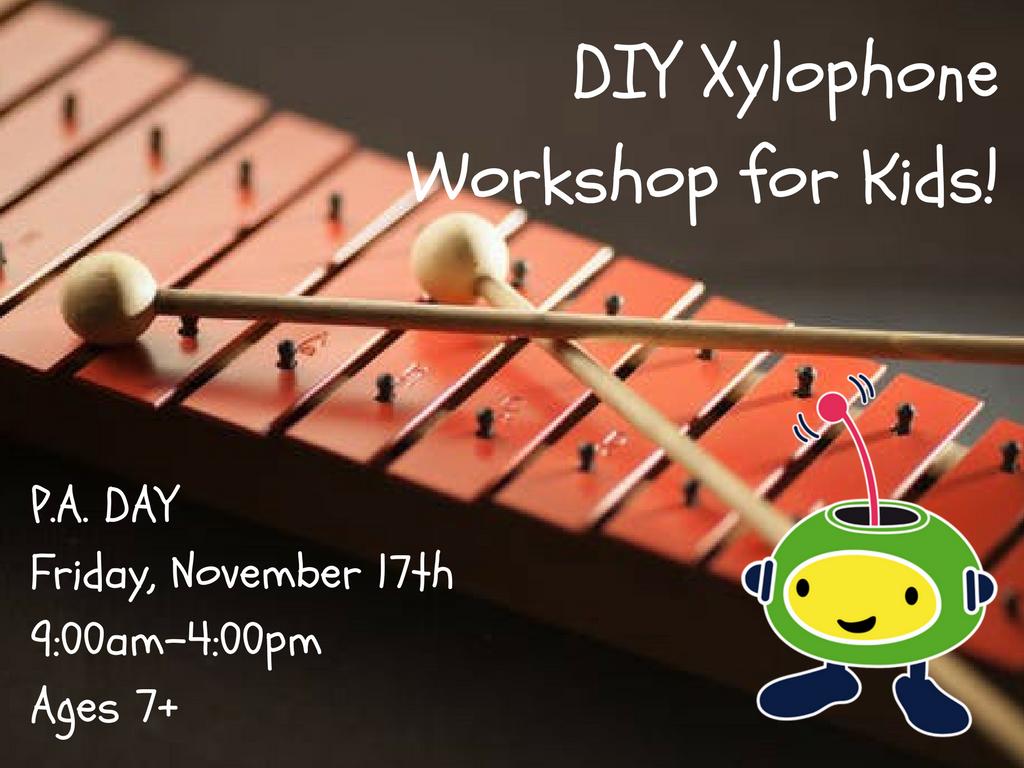 DIY Xylophone Workshop for Kids!