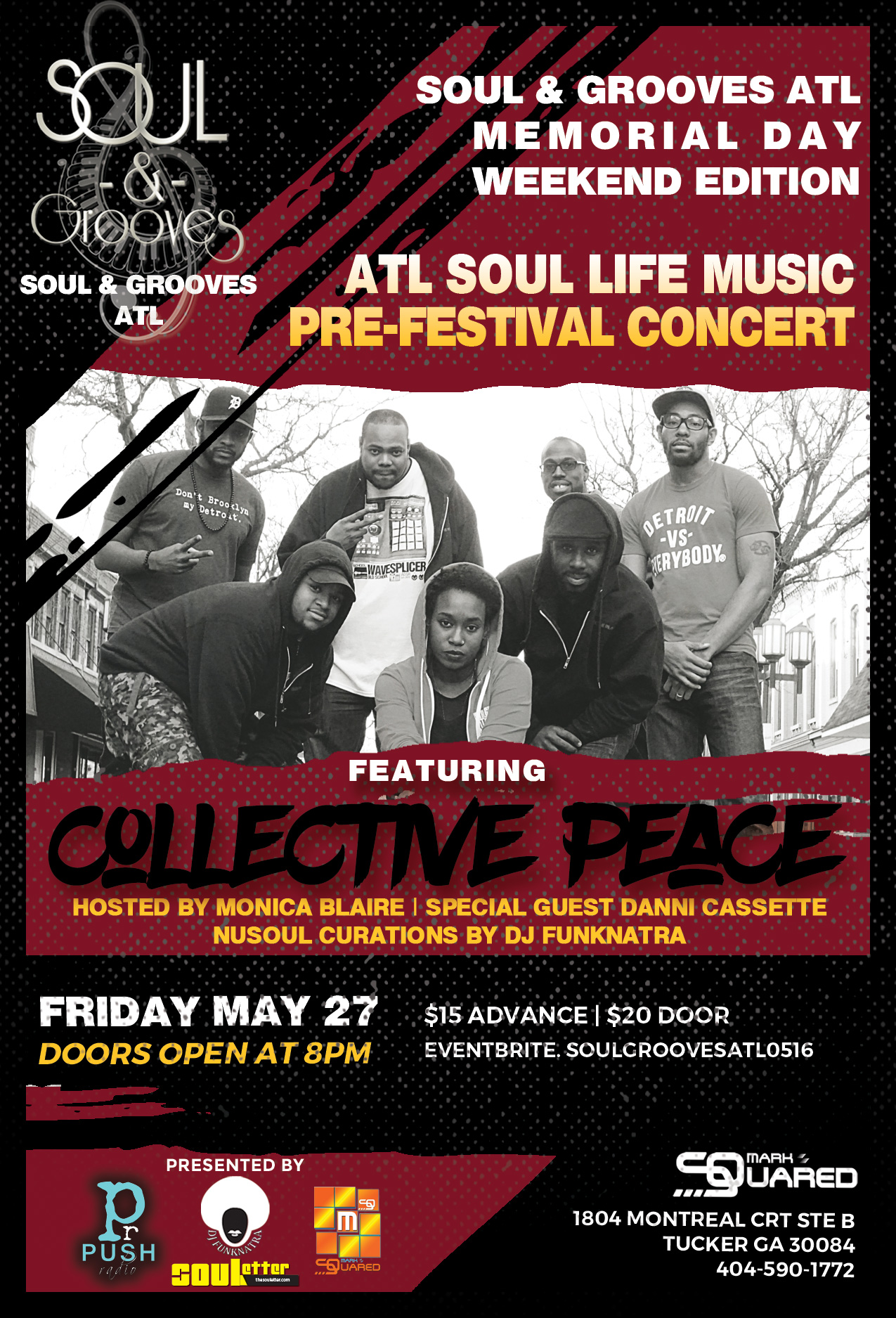 Soul and Grooves Atlanta Collective Peace