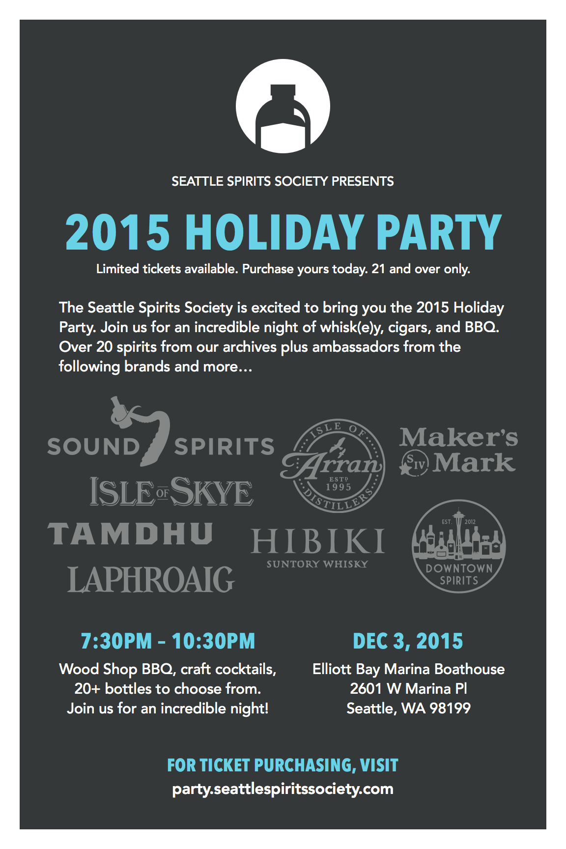 Seattle Spirits Society Holiday Party