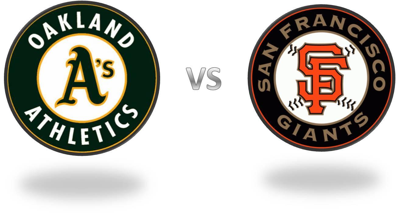 A's vs. Giants