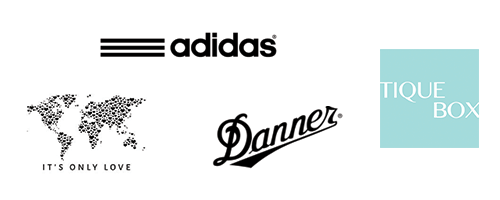 adidas, It's Only Love, Danner, Tique Box