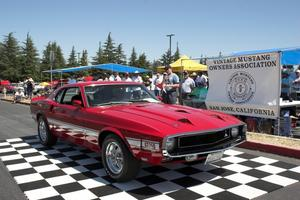 36th Annual Vintage Mustang Owners Association Car Show