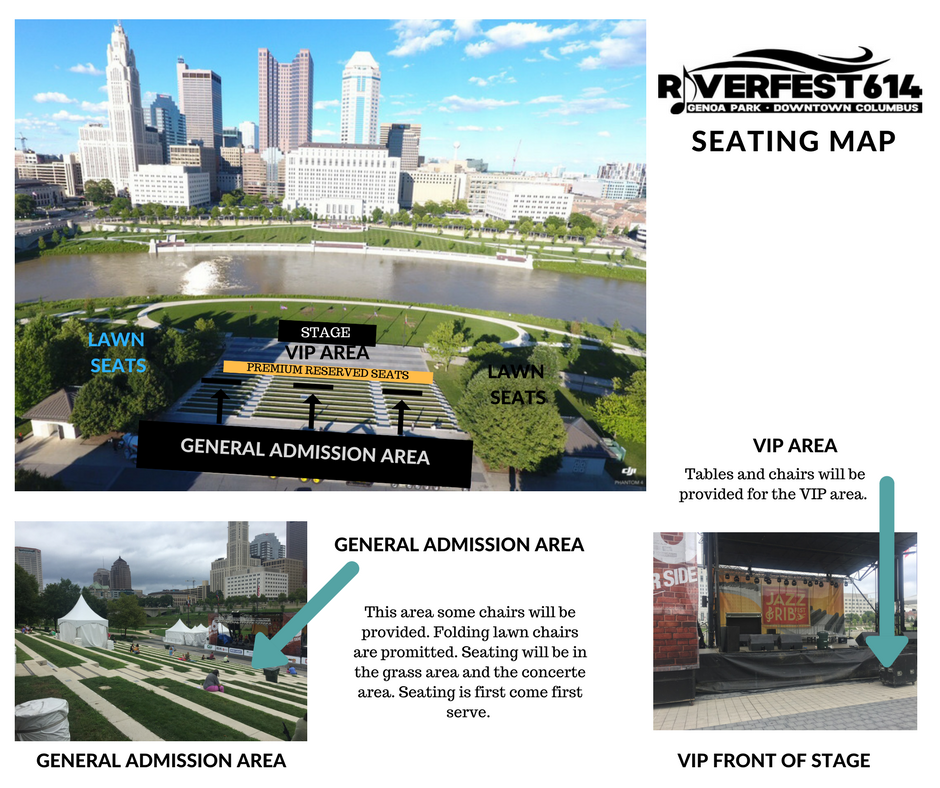 Riverfest614 Seating Example