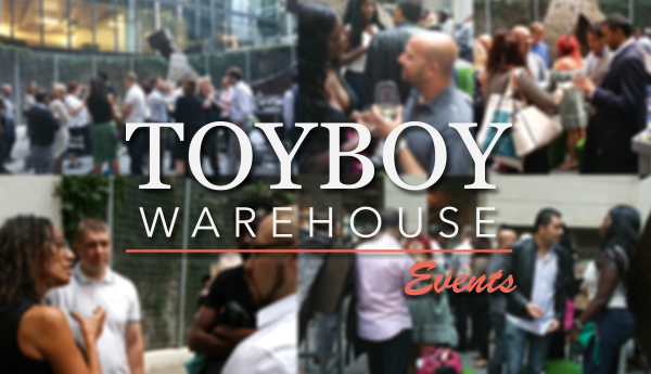 Toyboy Warehouse Events Logo