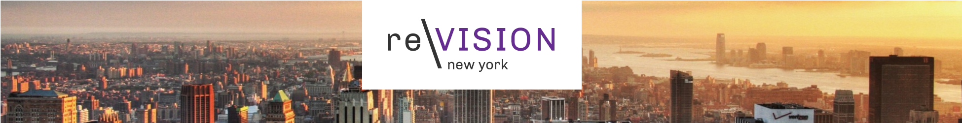 re:VISION New York Banner