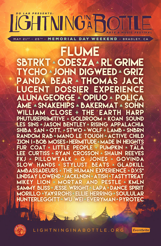 Official 2015 Lineup