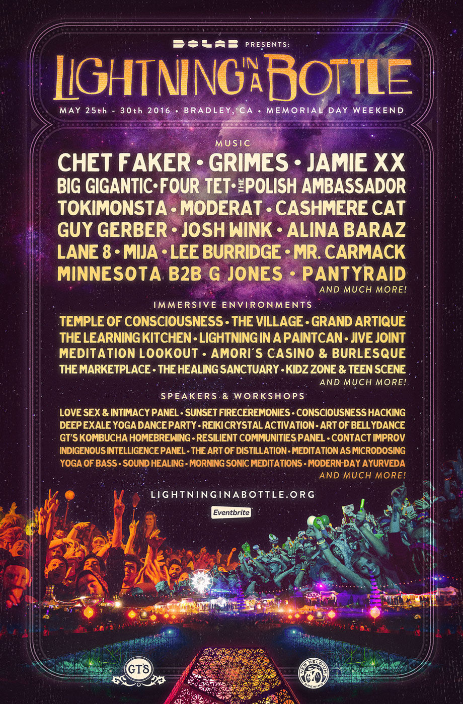Lightning in a Bottle 2016 comprehensive lineup