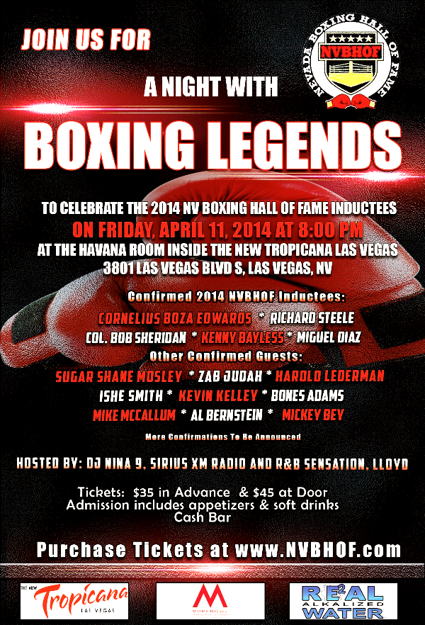 April 2014 Boxing Event