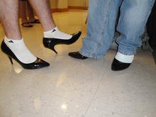 guys in heels