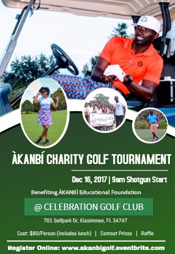 ÀKANBÍ Charity Golf Tournament