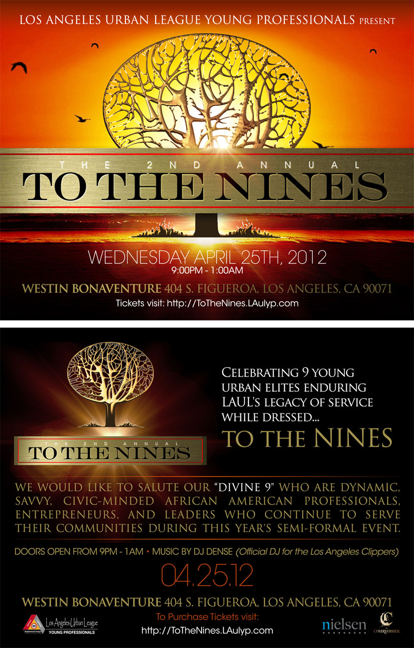 To The Nines Flyer