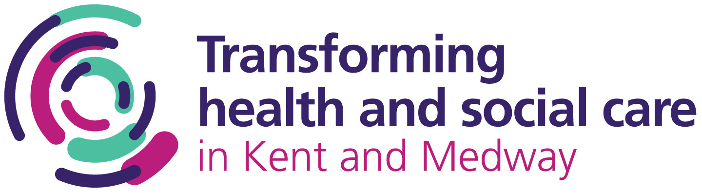 Improving health and care in Kent and Medway logo