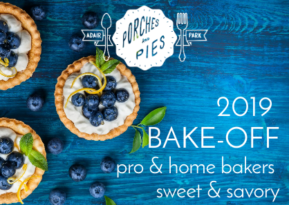 Entries are now open in sweet and savory categories. Enter the bake-off today!