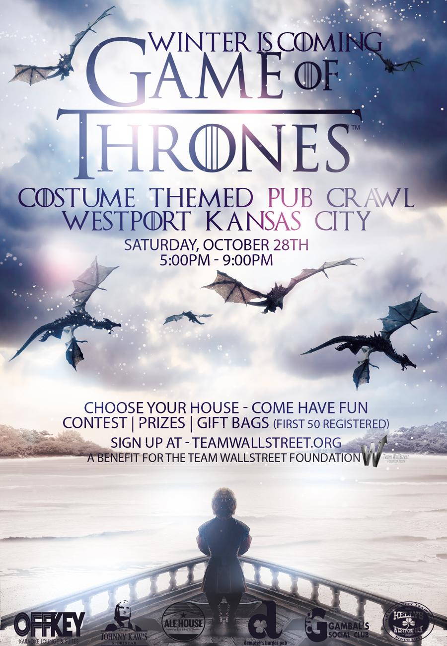 Game of Thrones Pub Crawl